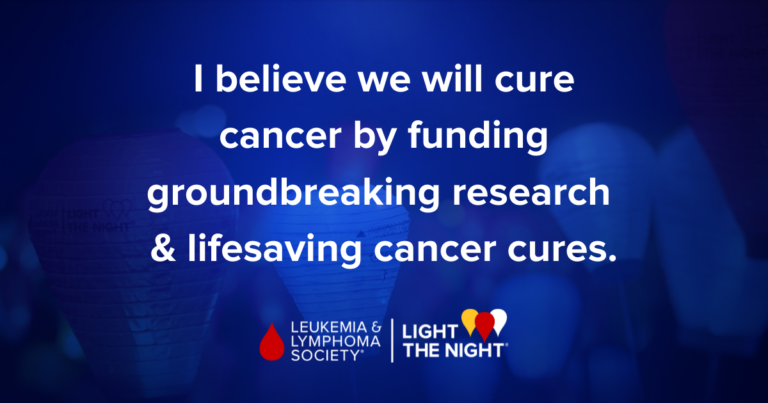 I #LightTheNight because @LLSUsa is at the forefront in the fight to cure cancer and the largest funder of cutting-edge research to advance cures.