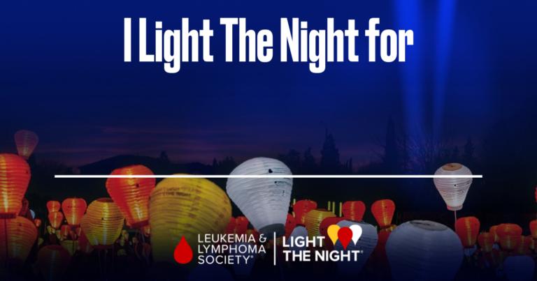 I #LightTheNight
